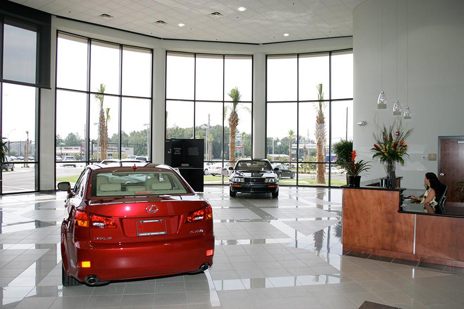 Auto Dealership Construction Project Lexus Of Orange Park