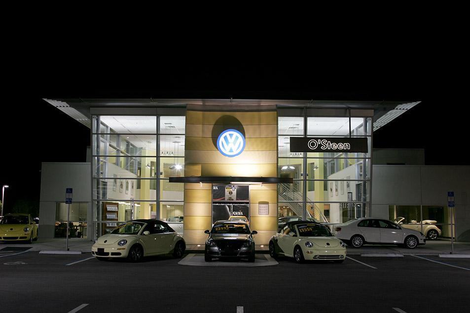 Auto Dealership Construction Project O Steen Volkswagen